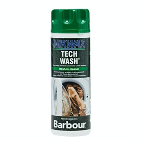 Barbour Nikwax Tech Wash Cleaning - Clear