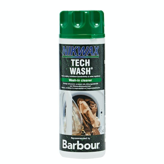 Barbour Nikwax Tech Wash Cleaning