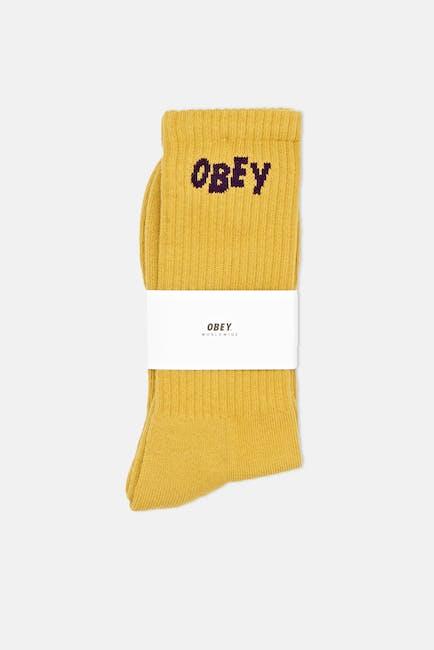 Obey Jumbled Socken