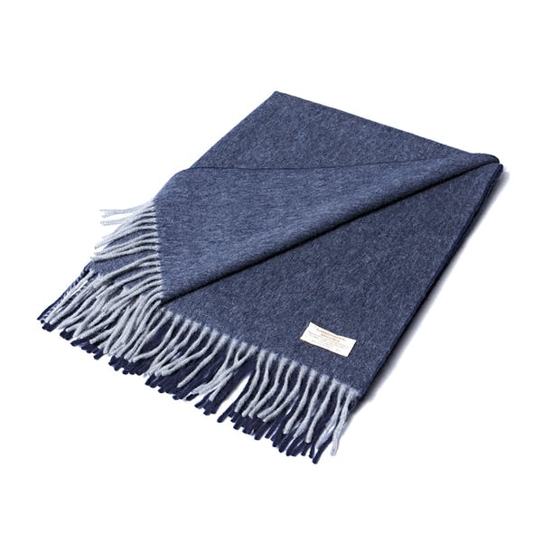 Country Attire Made In Scotland Wool and Angora Scarf