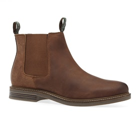 Barbour Farsley Chelsea Boots - Dark Tan