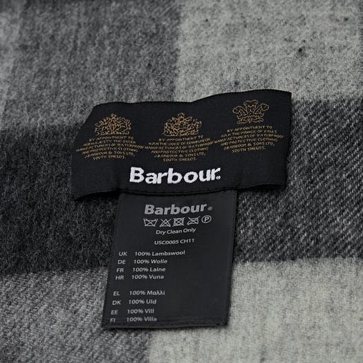Barbour Tattersall Large Wool Scarf