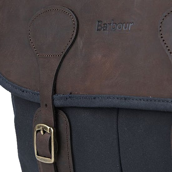 Barbour Wax Leather Tarras Messenger Taske