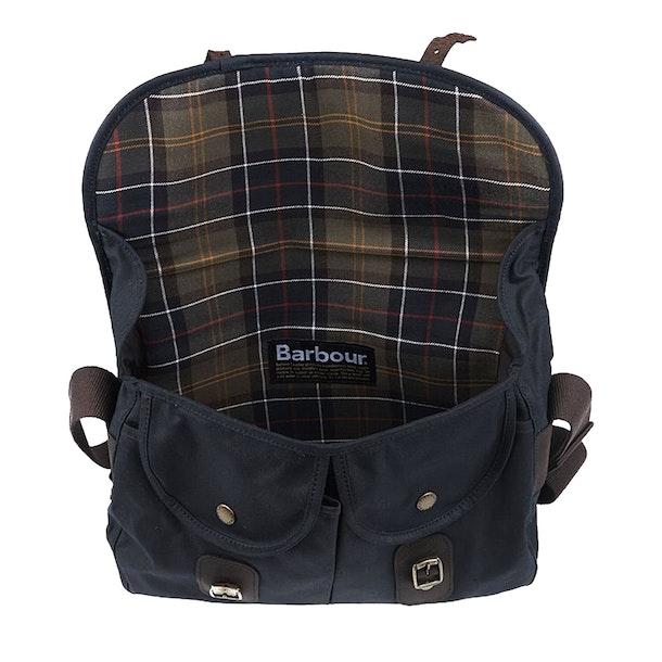 Barbour Wax Leather Tarras Messenger Bag