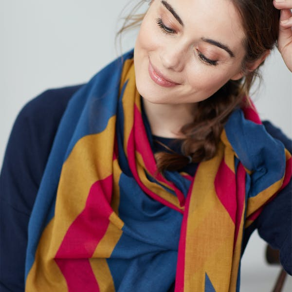 Joules Gloria 30th Anniversary Women's Scarf