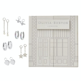 Olivia Burton House Of Huggies Damen Jewellery Gift Set - Silver