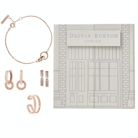 Olivia Burton The Classics Womens Jewellery Gift Set - Rose Gold