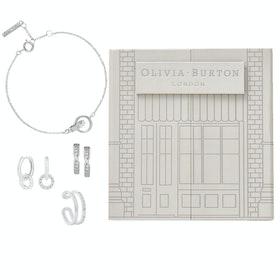 Olivia Burton The Classics Damen Jewellery Gift Set - Silver