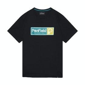 T-Shirt a Manica Corta Penfield Mens Stearns - Black