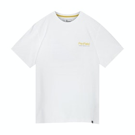 T-Shirt a Manica Corta Penfield Perkins - White