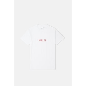 T-Shirt a Manica Corta Parlez Shadow - White