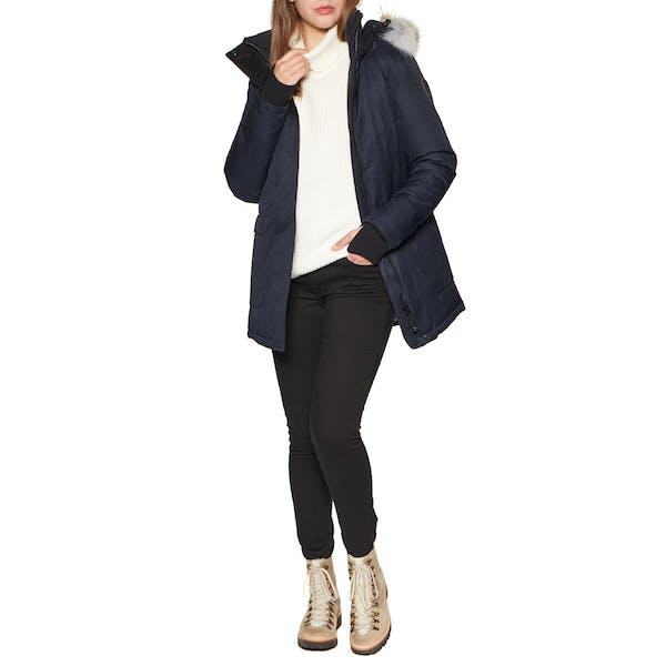Nobis Carla with Fur Trim Women's Jacket