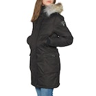Nobis Abby Crosshatch with Fur Trim Women's Jacket