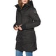 Nobis Abby Crosshatch with Fur Trim Ladies Jacket