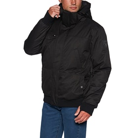 Nobis Stanford Bomber Style Down Jacket - Black