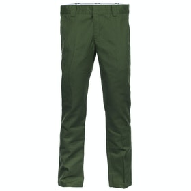 Dickies WP872 Slim Fit Work Chino Pant - Olive Green
