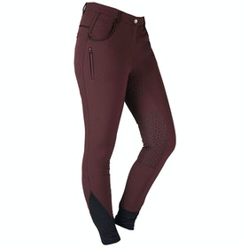 Horka Camargue Ladies Riding Breeches - Raisin