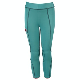 Horka Red Horse Nina Girls Riding Breeches - Sea Blue
