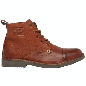 Levi's Track Boots - Medium Brown