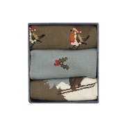 Corgi 3 Pack Cotton Gift Box Men's Socks