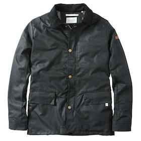Peregrine Made In England Boarder Wax Jacket - Black