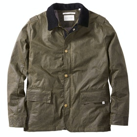 Peregrine Made In England Boarder Wax Jacket - Olive