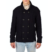 Peregrine Made In England Knitted Aran Cardigan