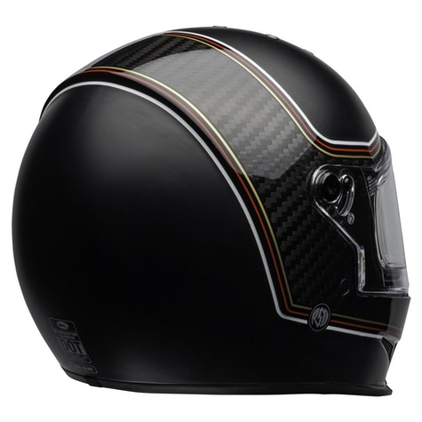 Bell Eliminator Carbon Roland Sands Design The Charge Road Helmet