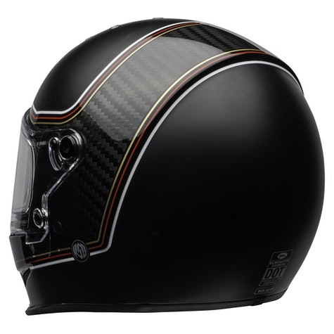 Bell Eliminator Carbon Roland Sands Design The Charge Road Helmet