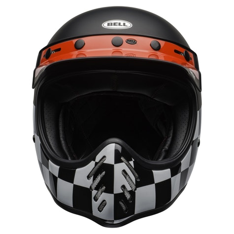 Casco MX Bell Fasthouse Moto-3 Checkers