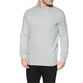 Sweat Quiksilver Arumpo Mungo - Light Grey Heather