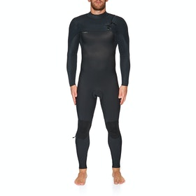 Combinaison de Surf O'Neill Hyperfreak 4/3+ Chest Zip Full - Black Black