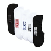 Element Low Rise 5 Pack Fashion Socks