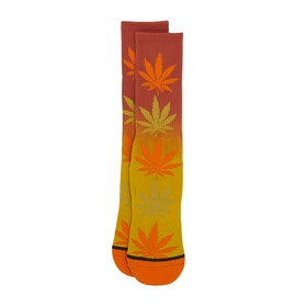 Huf Gradient Dye Plantlife Socks - Rust