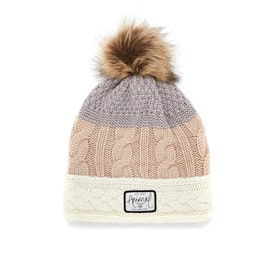 Animal Celise Knitted Womens Beanie - Rose Dust Pink