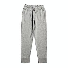 Pantalons de Jogging Quiksilver Tassie Gully - Light Grey Heather