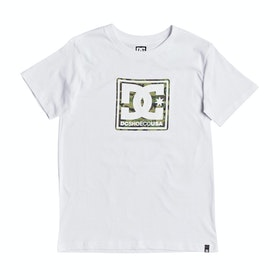 T-Shirt a Manica Corta DC Butane Box - Snow White