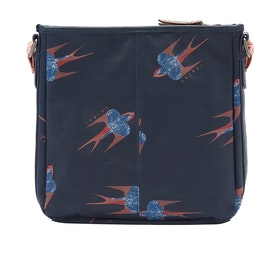 Animal Uplift Cross Body Womens Handbag - Indigo Blue