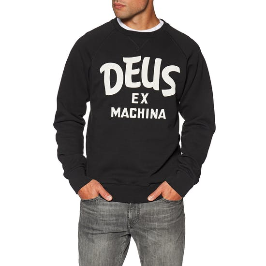 Deus Ex Machina Curvy Crew Sweater