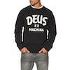 Deus Ex Machina Curvy Crew Sweater - Black