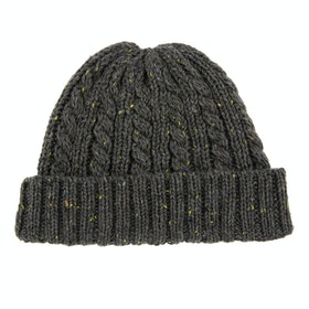 Dents Cable Knit Hut - Grey
