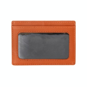 Dents Kensley Card Holder - Black Highway Tan
