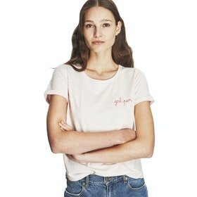 Maison Labiche Girl Power Women's Short Sleeve T-Shirt - Heather Pink