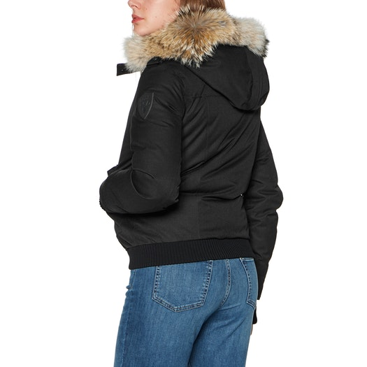 Nobis Harlow Bomber Style with Fur Trim Ladies Jacket