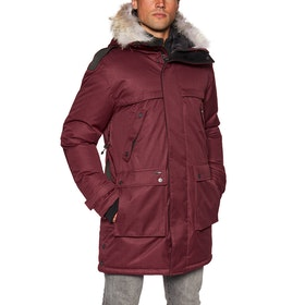 Nobis Yatesy Waterproof Jacket - Cabernet