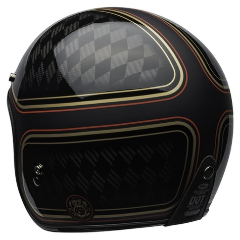 Bell Custom 500 Carbon Roland Sands Design Checkmate Road Helmet