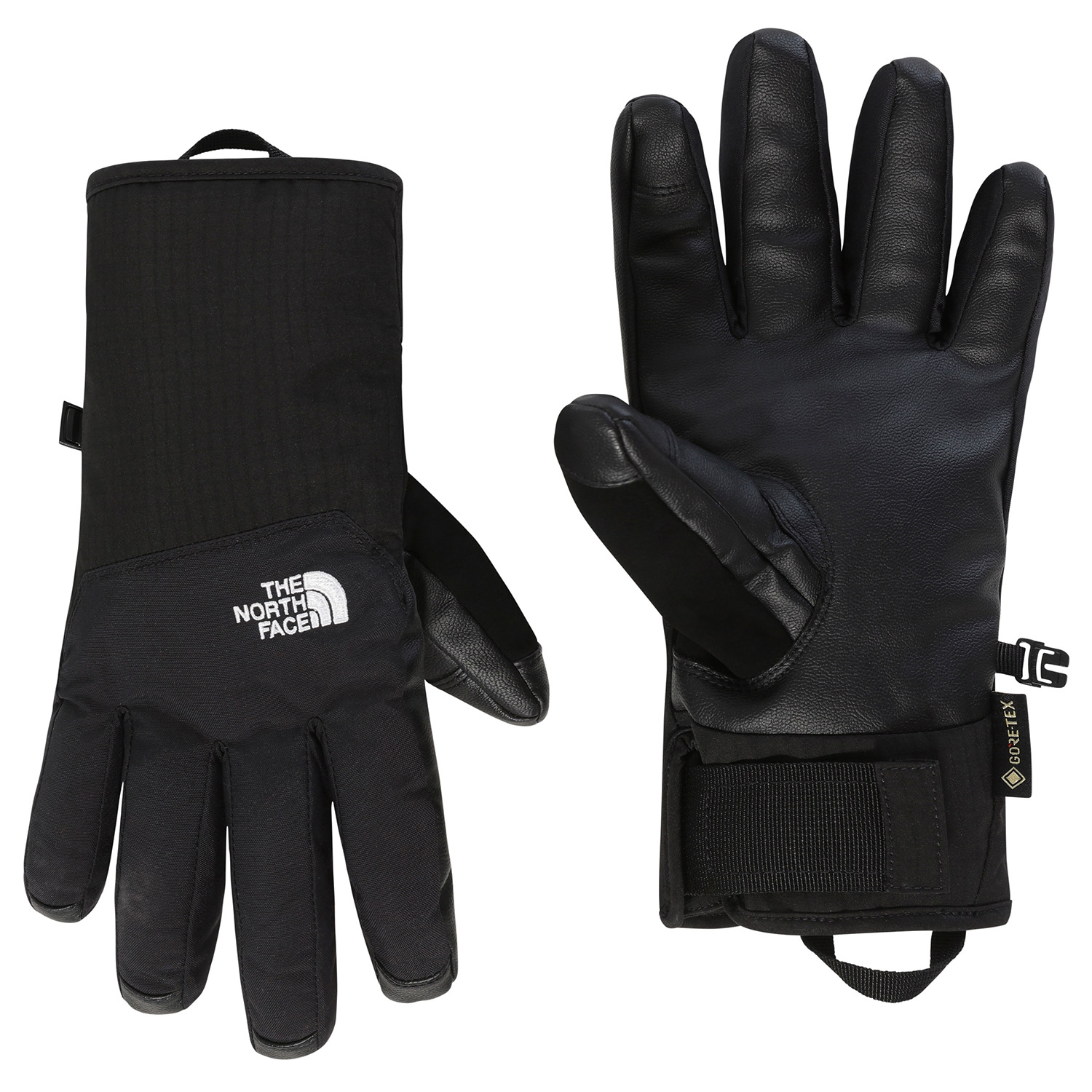 Tnf Black All Sizes The North Face Etip Leather Unisex Gloves