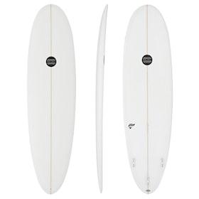 Maluku Genie FCS II Thruster Surfboard - White