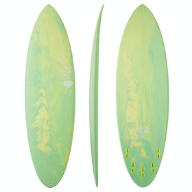 Fourth Surfboards Reload 2.0 FCS II Thruster Surfboard - Lemon & Lime