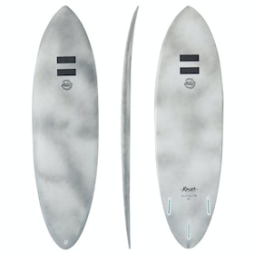 Indio Endurance Racer Thruster Futures Surfboard - Grey